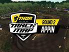 2017 Australian Motocross Nationals: Appin Track Map