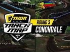 2017 Australian Motocross Nationals: Conondale Track Map