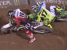 CRASH: Zach Osborne Takes Out Joey Savatgy to Win the 2017 East Coast Supercross Championship