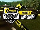 2017 Australian Motocross Nationals: Horsham Track Map