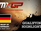 2017 MXGP of Germany: MXGP & MX2 Qualifying Race Highlights