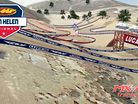 Animated Track Map: Glen Helen MX