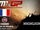 2017 MXGP of France: MXGP & MX2 Qualifying Race Highlights