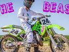 THE BEAST: Carter Stephenson on a KX500