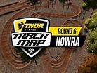 2017 Australian Motocross Nationals: Nowra Track Map