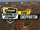 2017 Australian Motocross Nationals: Shepparton Track Map
