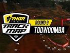 2017 Australian Motocross Nationals: Toowoomba Track Map