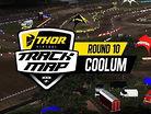 2017 Australian Motocross Nationals: Coolum Track Map