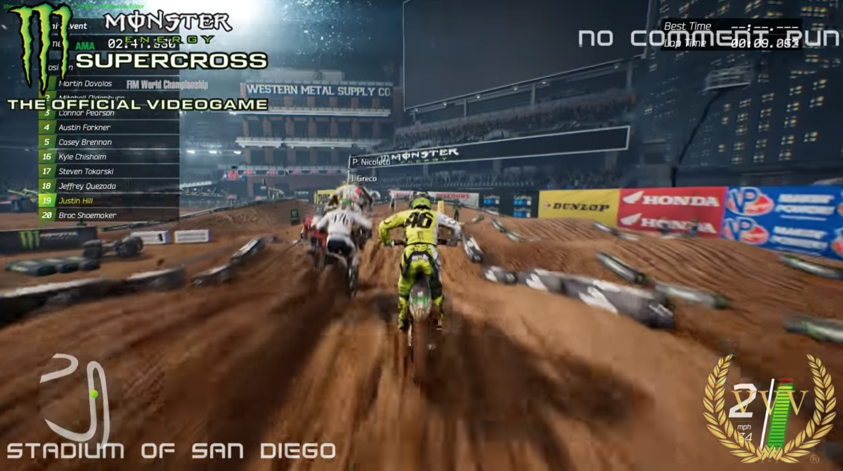 monster energy supercross the video game san diego. Black Bedroom Furniture Sets. Home Design Ideas