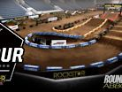 2018 Abbotsford Canadian Arenacross - Animated Track Map