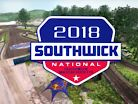 2018 Southwick Motocross National: Animated Track Map