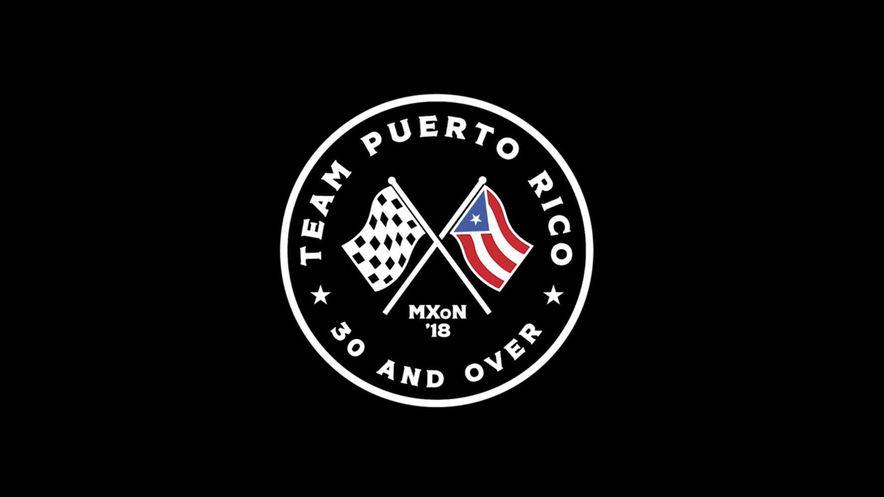 Team Puerto Rico for 2018 MXoN - Ronnie Mac, Travis Pastrana, and Ryan Sipes