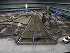 2019 Anaheim 2 Supercross - Animated Track Map