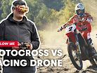 FPV Racing Drone Films Camille Chapelière Shredding A Sand Track
