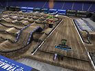 2019 Houston Supercross - Animated Track Map