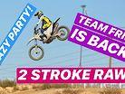 Team Fried - Jason Anderson on a 2-Stroke, Straight Rhythm, and Team Fried Ride Day