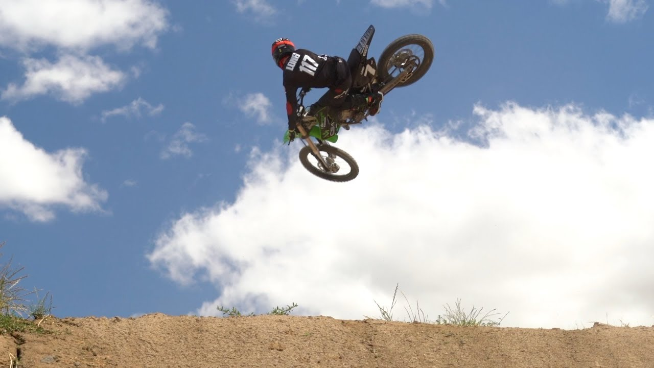 RAW: Dylan Long on a 125 at Park4MX