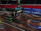 2020 Atlanta Supercross - Animated Track Map