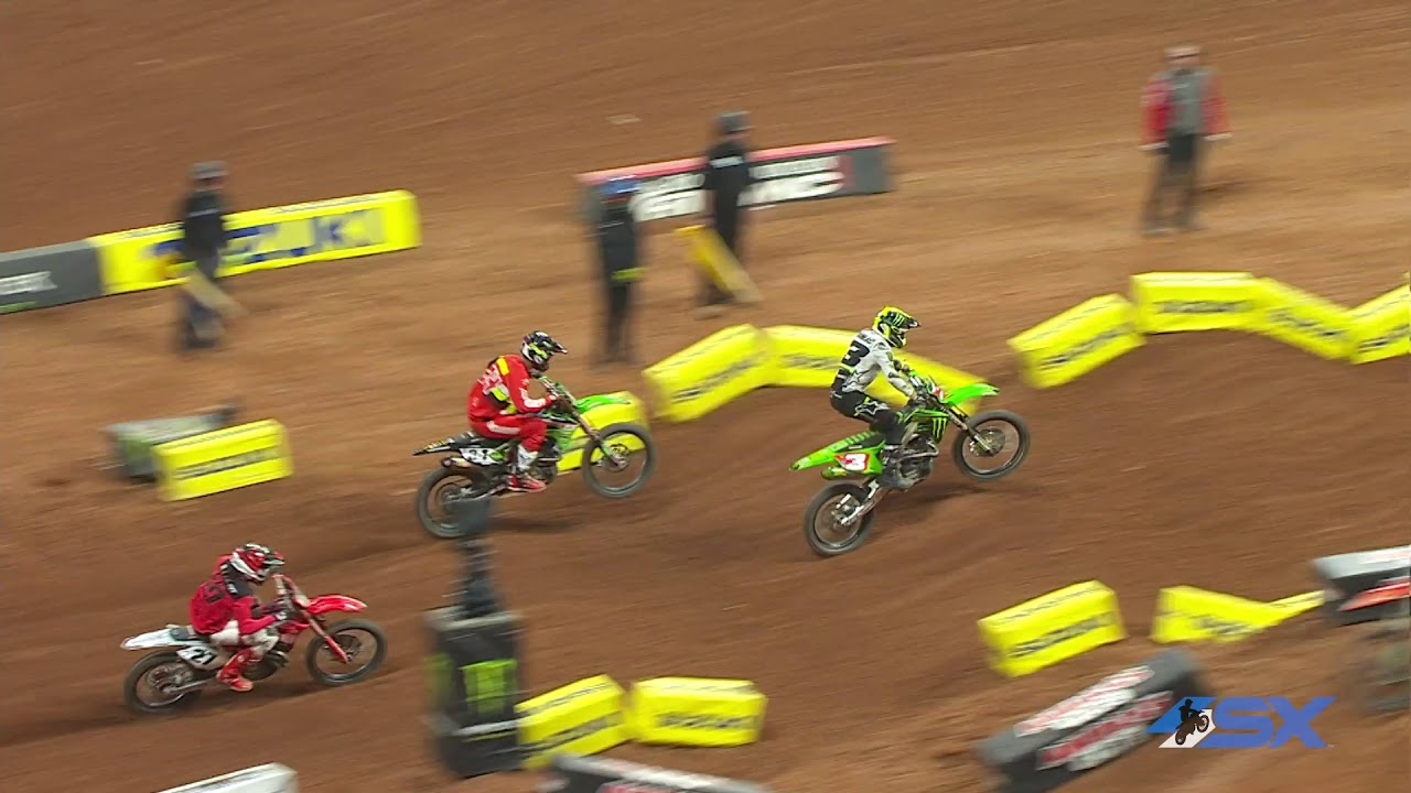 Eli Tomac vs. Justin Barcia - 2020 Atlanta Supercross
