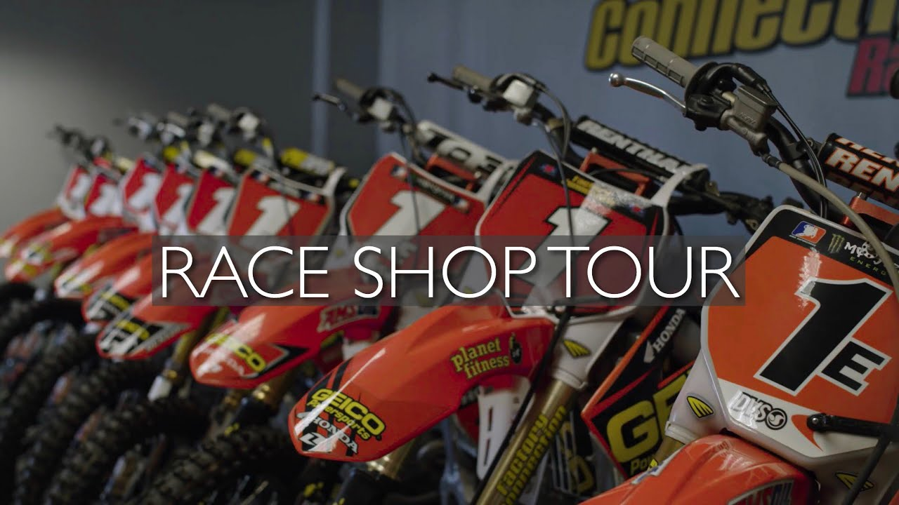 An In-Depth Tour of GEICO Honda's Race Shop