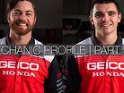 GEICO Honda Mechanic Profile | Christien Ducharme and Cameron Camera | Part 3/3