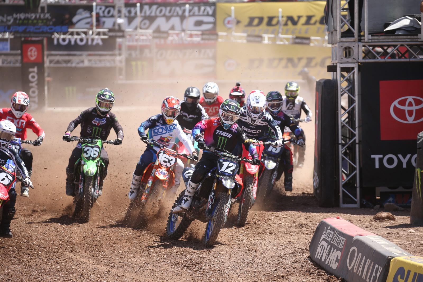 2020 Salt Lake City 1 Supercross - 250 & 450 Highlights