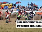 2020 Buckwheat 100 GNCC Pro Bike Highlights