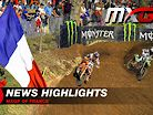 Video Highlights: 2021 MXGP of France