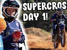 The Deegans - Haiden's First Day of SX with Star Racing Yamaha