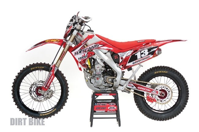 2010 CRF250R/X Off-Road trail FI 250 - JayClark's Bike Check - Vital MX