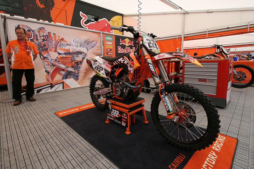 Team RedBull Teka KTM - Valkenswaard GP Pit Bits  - Motocross Pictures - Vital MX
