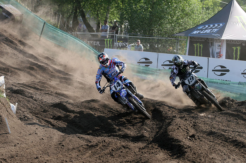 Marc de Reuver and David Philippaerts - Valkenswaard GP Pit Bits  - Motocross Pictures - Vital MX