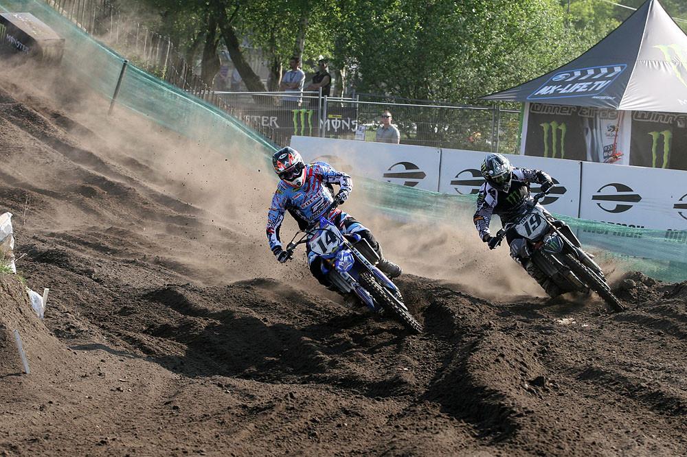Marc de Reuver and David Philippaerts - Valkenswaard GP Pit Bits  - Motocross Pictures - Vital MX