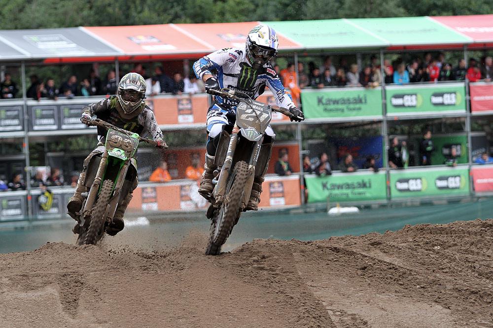 Gaultier Paulin vs Max Anstie - Grand Prix of Belgium - Motocross Pictures - Vital MX