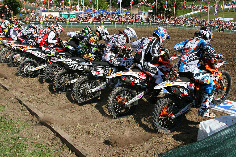 MX2 start - Grand Prix of Europe - Motocross Pictures - Vital MX