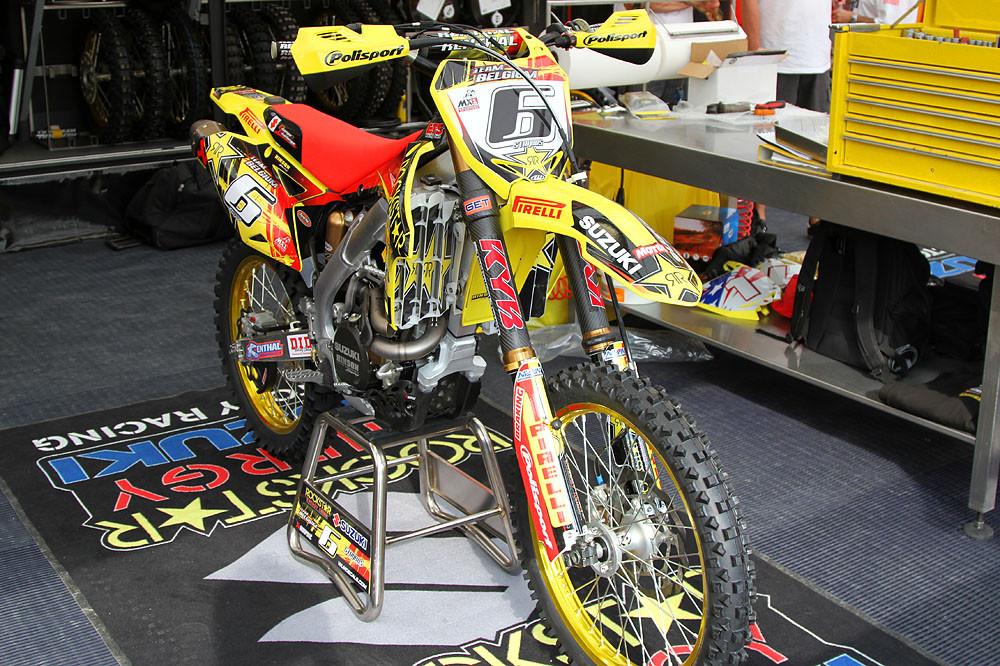 Kevin Strijbos - MXoN Friday Pitbits - Motocross Pictures - Vital MX