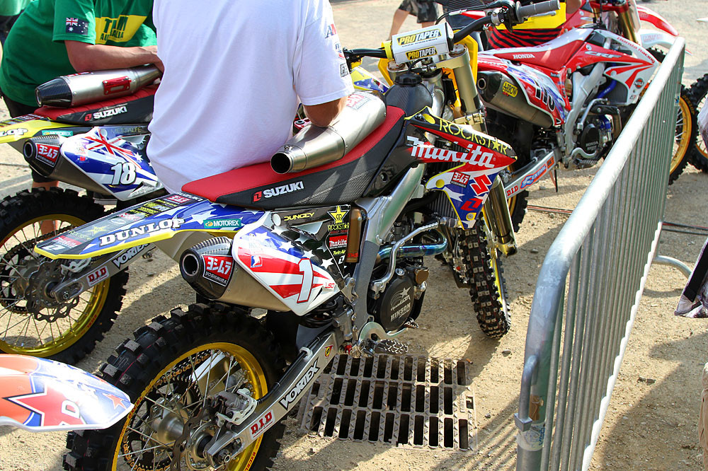 Ryan Dungey - MXoN Friday Pitbits - Motocross Pictures - Vital MX