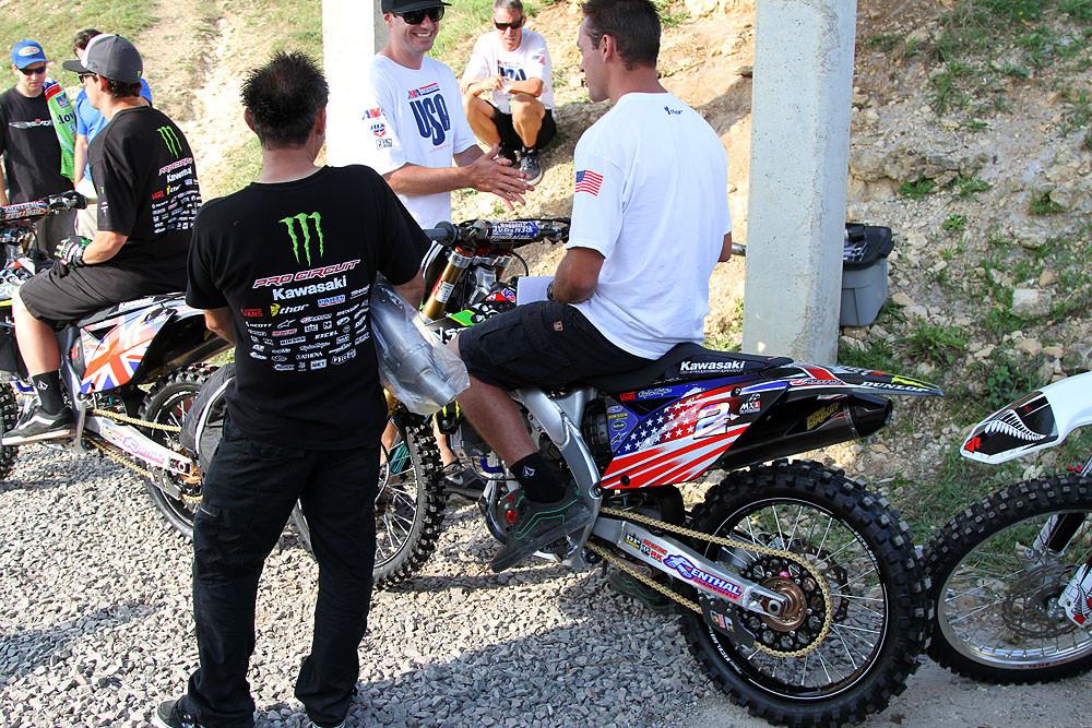 Blake Bagget - MXoN Friday Pitbits - Motocross Pictures - Vital MX