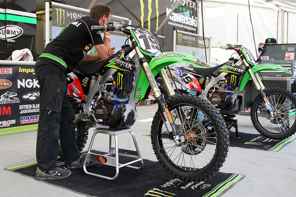 Christophe Pourcel - MXoN Friday Pitbits - Motocross Pictures - Vital MX
