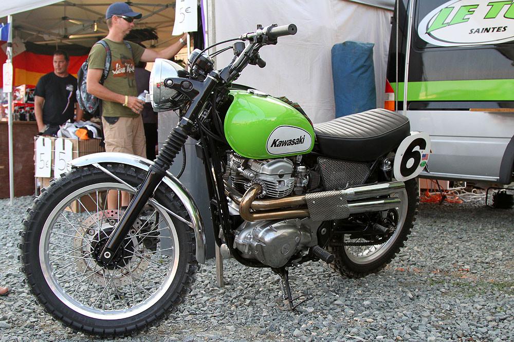 Oldschool Kawasaki - MXoN Saturday Qualifing racing. - Motocross Pictures - Vital MX