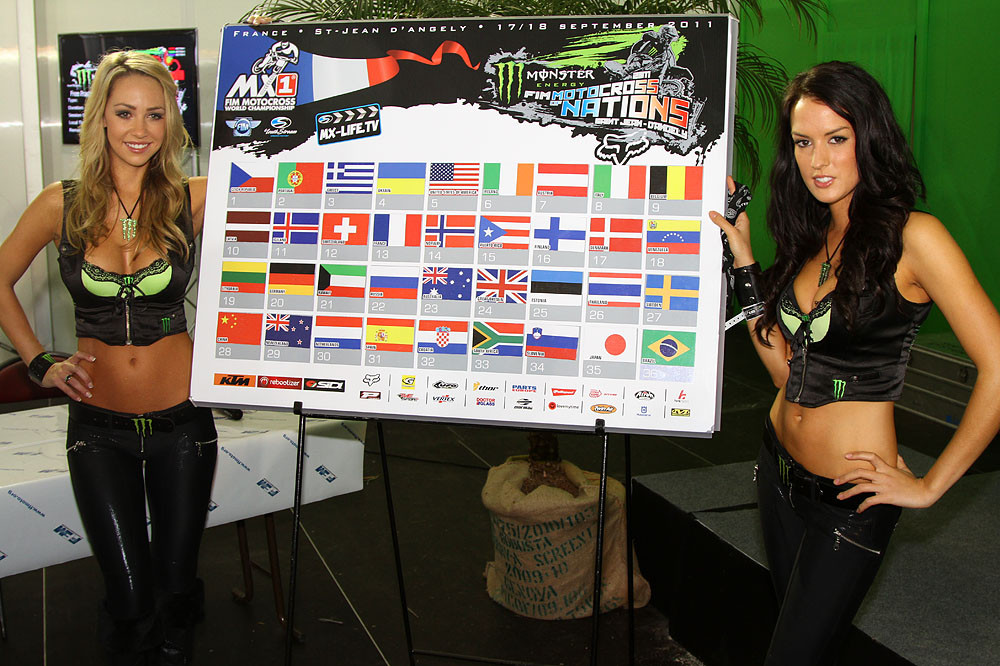 The ballotting result - MXoN Saturday Qualifing racing. - Motocross Pictures - Vital MX