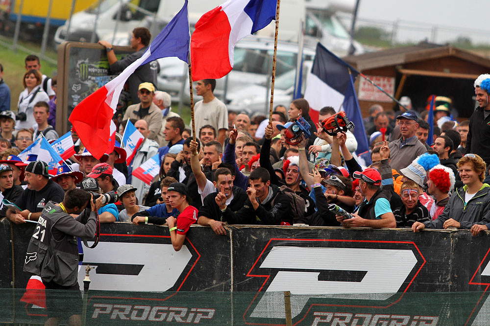 French Fans - MXoN Saturday Qualifing racing. - Motocross Pictures - Vital MX