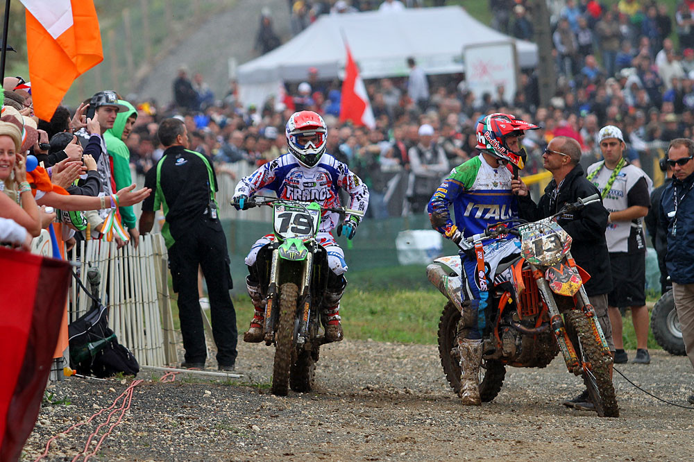 Pourcel & Cairoli - MXoN Saturday Qualifing racing. - Motocross Pictures - Vital MX