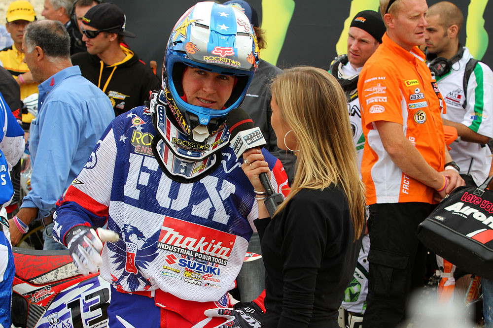 Ryan Dungey - MXoN Saturday Qualifing racing. - Motocross Pictures - Vital MX