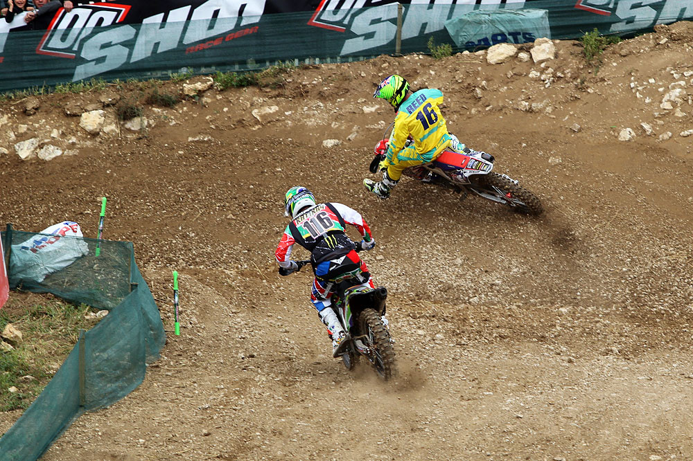 Reed & Rattray - MXoN Saturday Qualifing racing. - Motocross Pictures - Vital MX