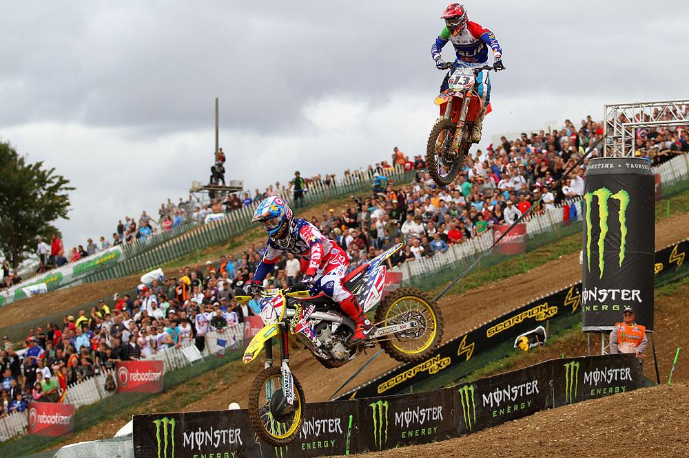 Dungey & Cairoli - MXoN Saturday Qualifing racing. - Motocross Pictures - Vital MX