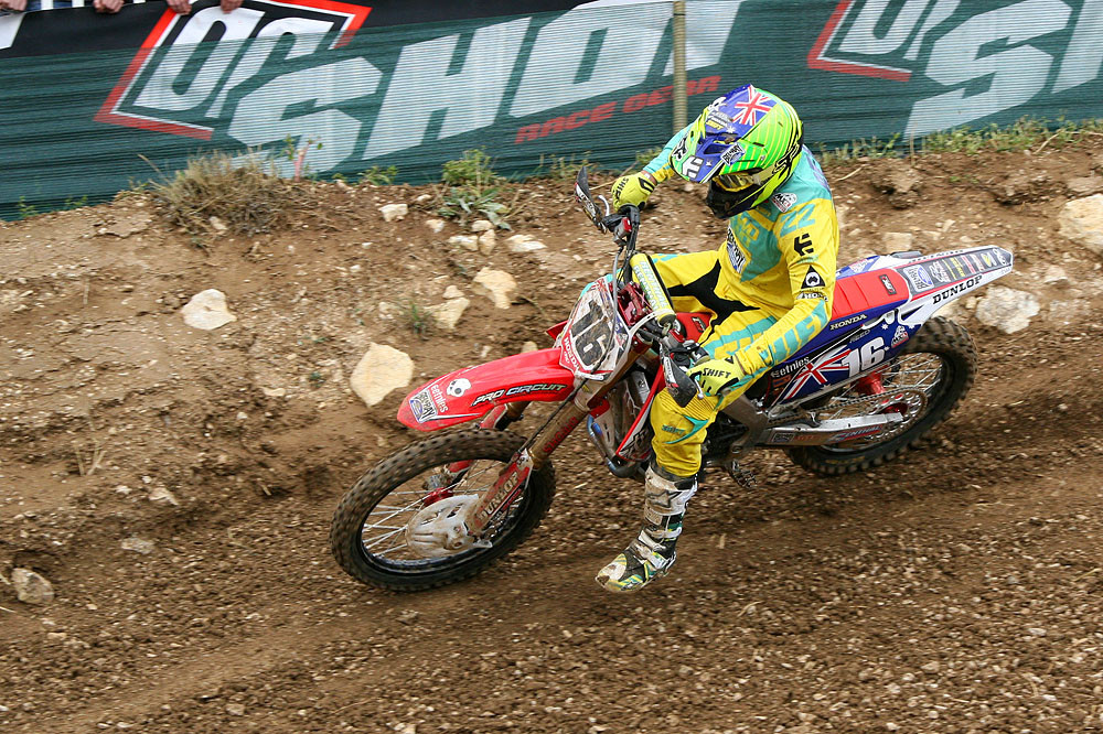 Chad Reed  - MXoN Saturday Qualifing racing. - Motocross Pictures - Vital MX