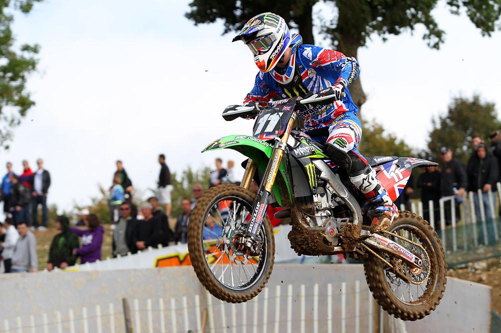 Dean Wilson - MXoN Saturday Qualifing racing. - Motocross Pictures - Vital MX