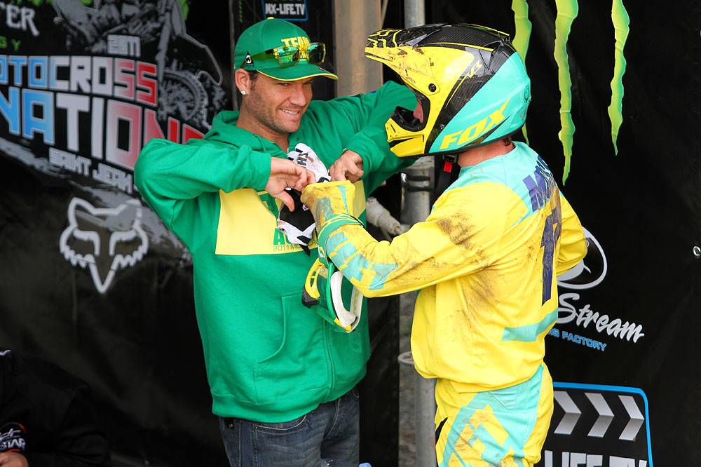Reed & Moss - MXoN Saturday Qualifing racing. - Motocross Pictures - Vital MX