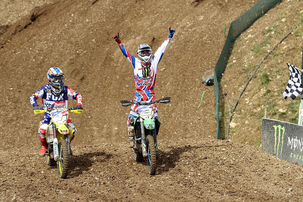 The Ryans 1-2 - MXoN Podium pictures - Motocross Pictures - Vital MX